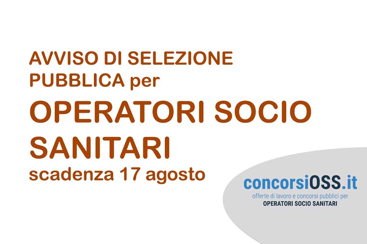 Avviso di selezione pubblica per OSS a Cremona