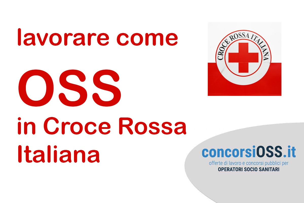Lavorare come OSS in Croce Rossa Italiana