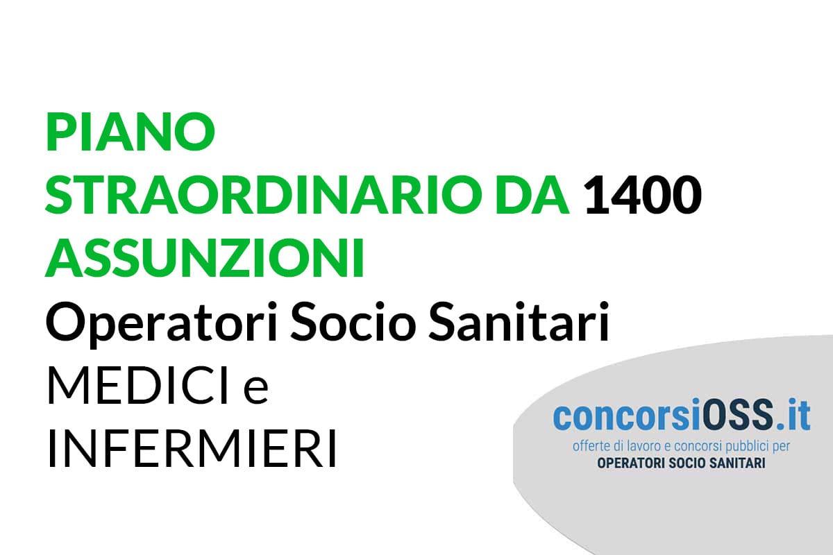 Piano straordinario da 1400 assunzioni Sanità Piemonte