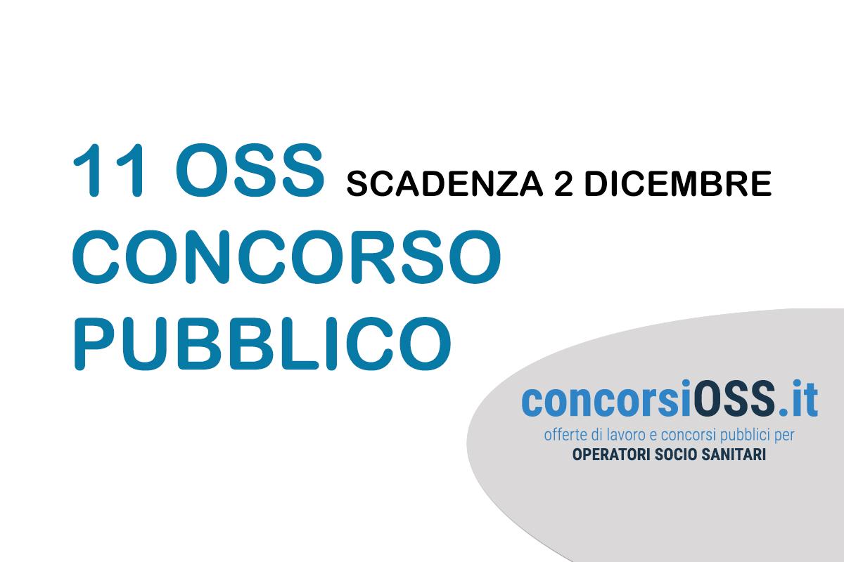 11 OSS concorso pubblico Terni