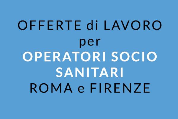 OSS lavoro Firenze e Roma 2019