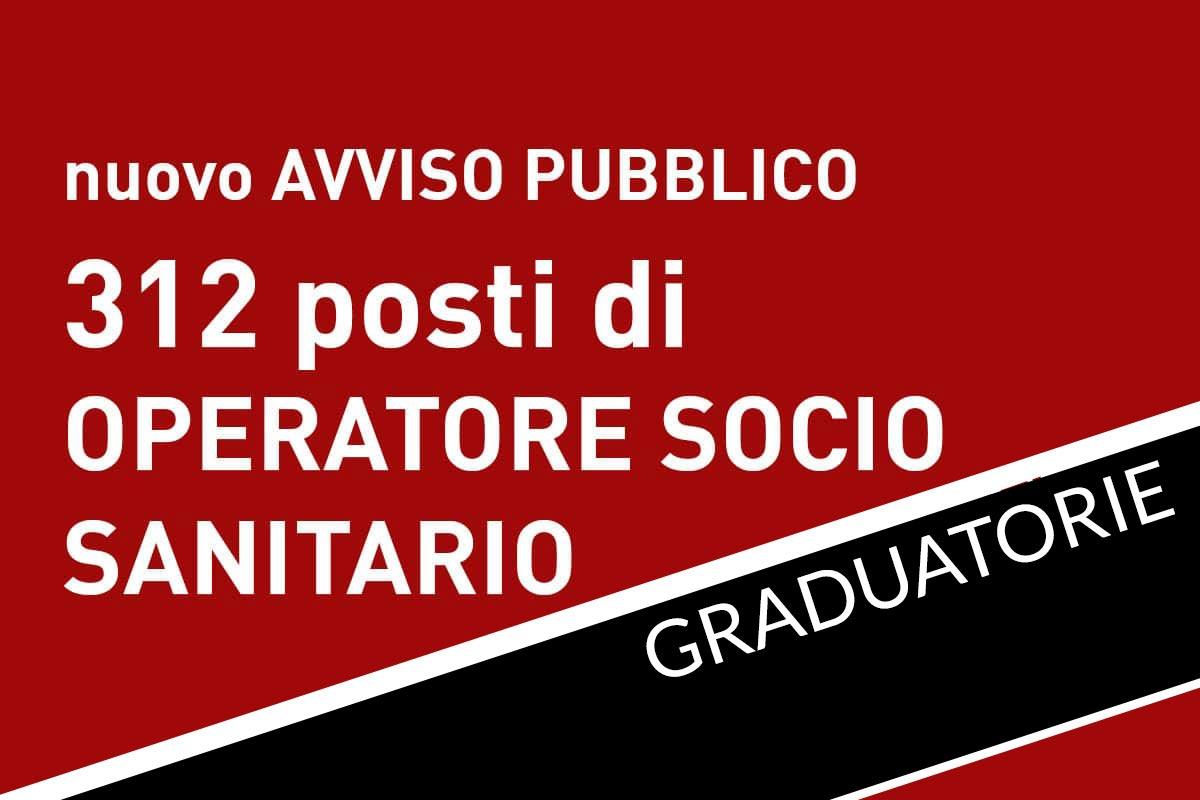 312 posti di OSS Avviso pubblico VENETO GRADUATORIA
