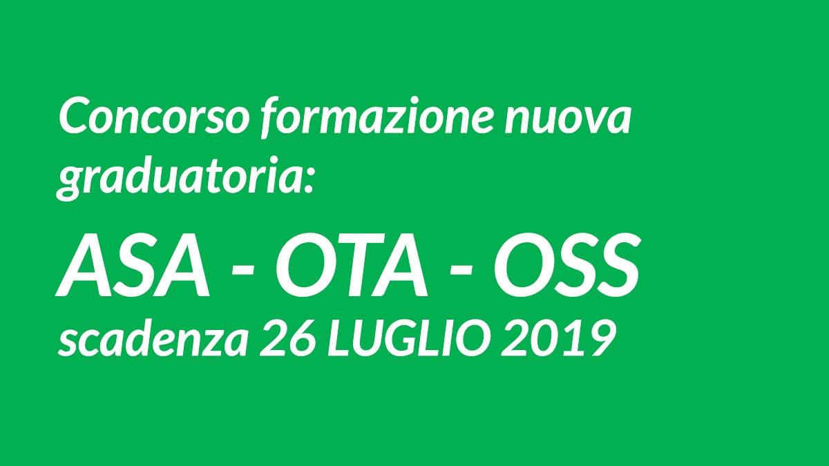 OSS concorso graduatoria Luglio 2019 Cremona