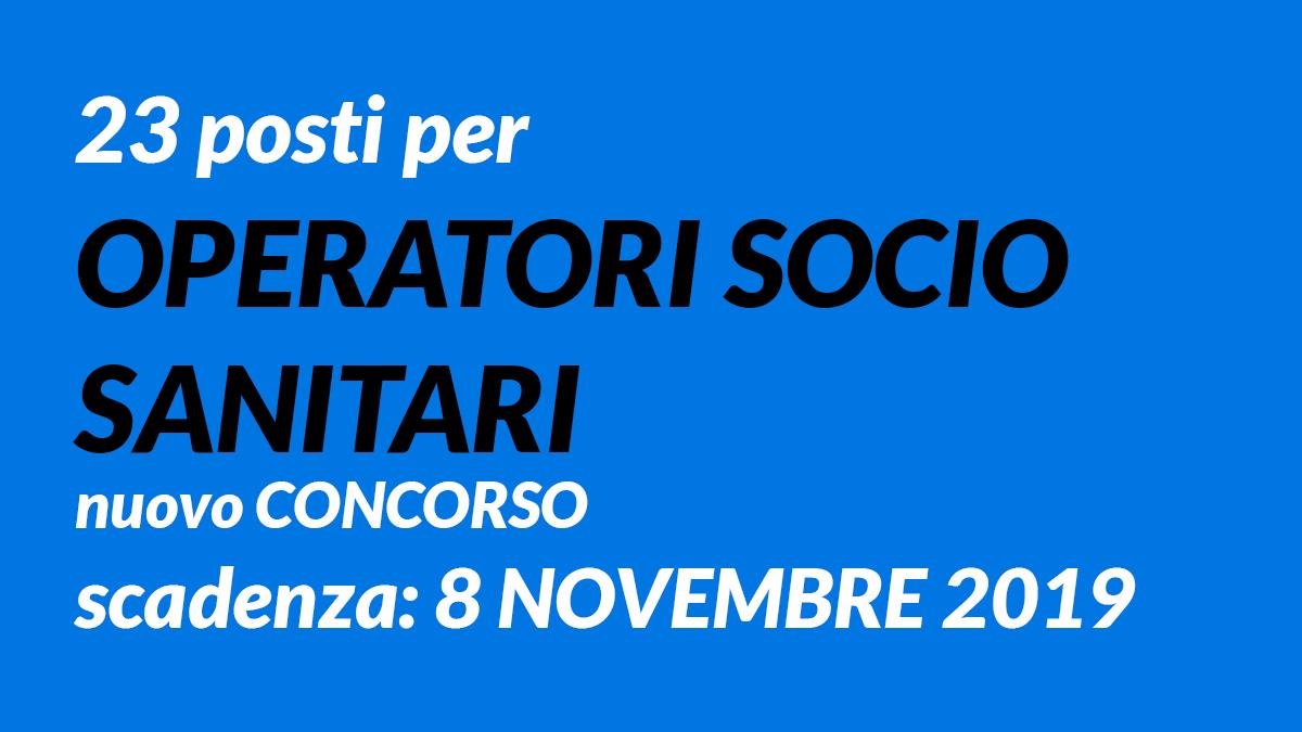23 OSS concorso 2019 Trento