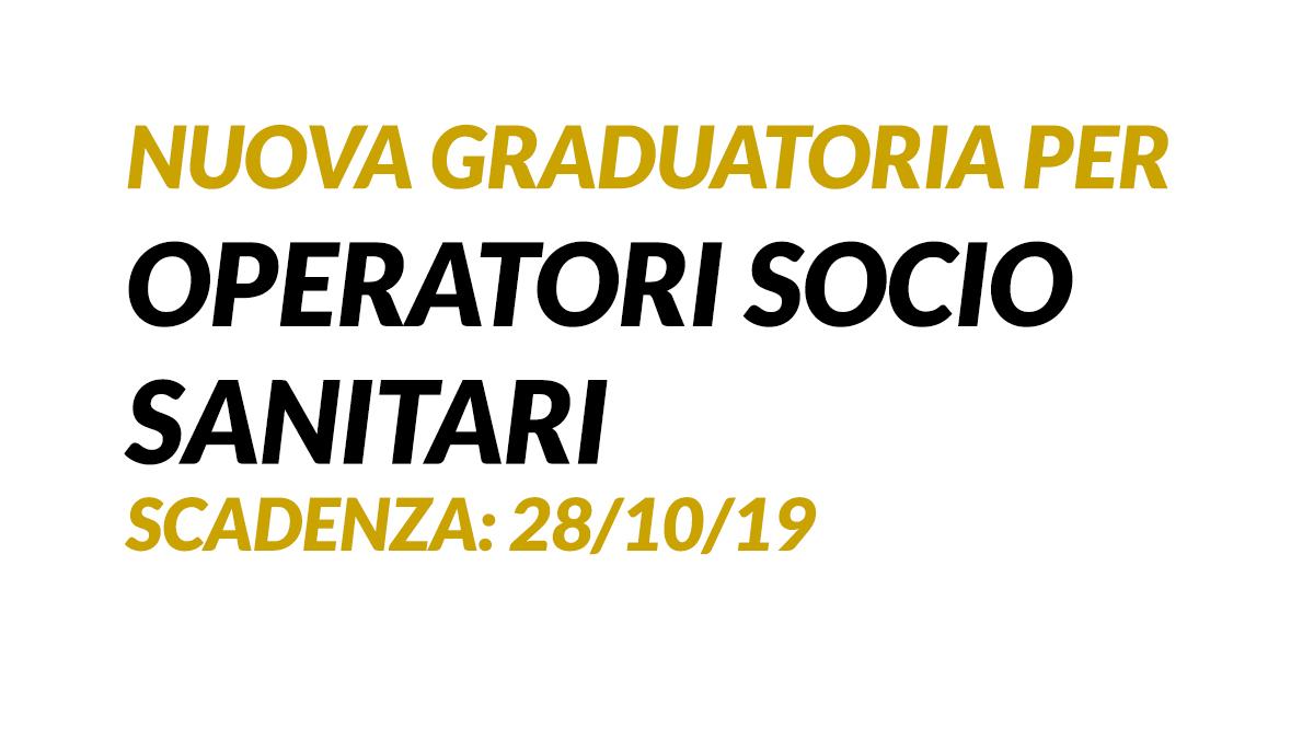 Graduatoria OSS SELEZIONE PUBBLICA OTTOBRE 2019 Verona