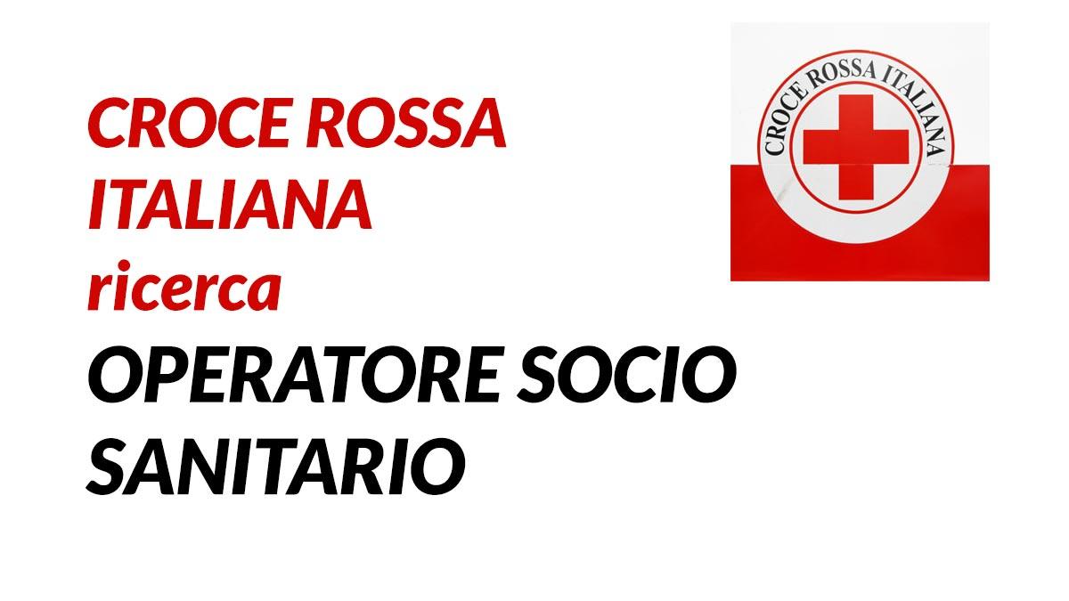 Lavorare come OSS in Croce Rossa Italiana 2020