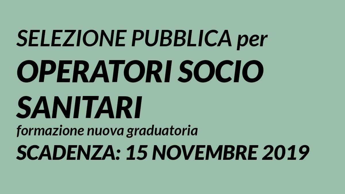 OSS formazione nuova GRADUATORIA Piacenza