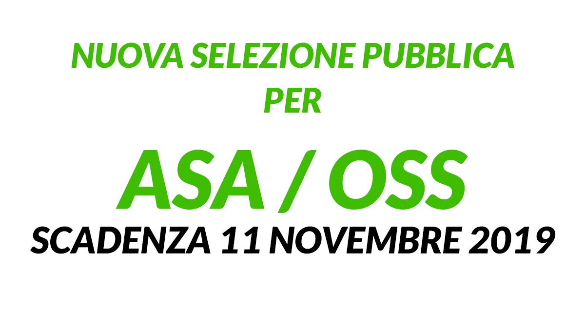 2 posti ASA OSS selezione pubblica