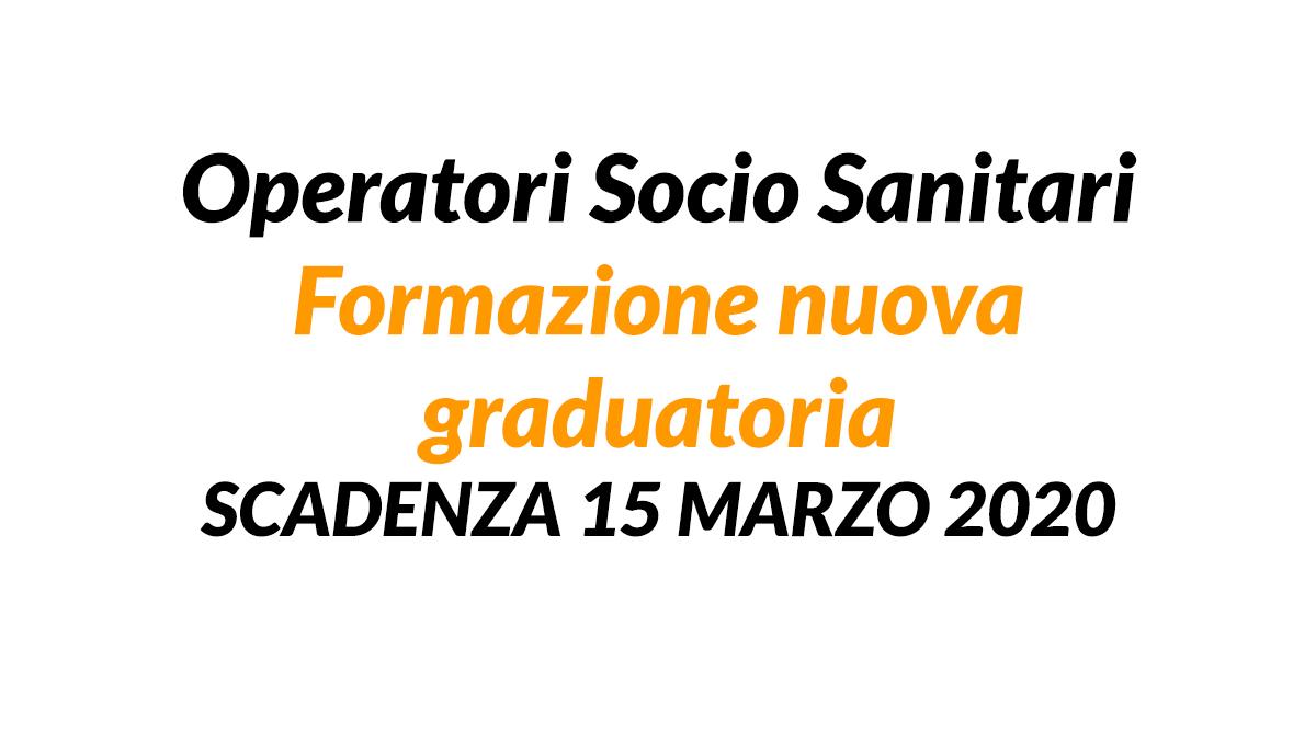 OSS nuova graduatoria 2020 Piacenza