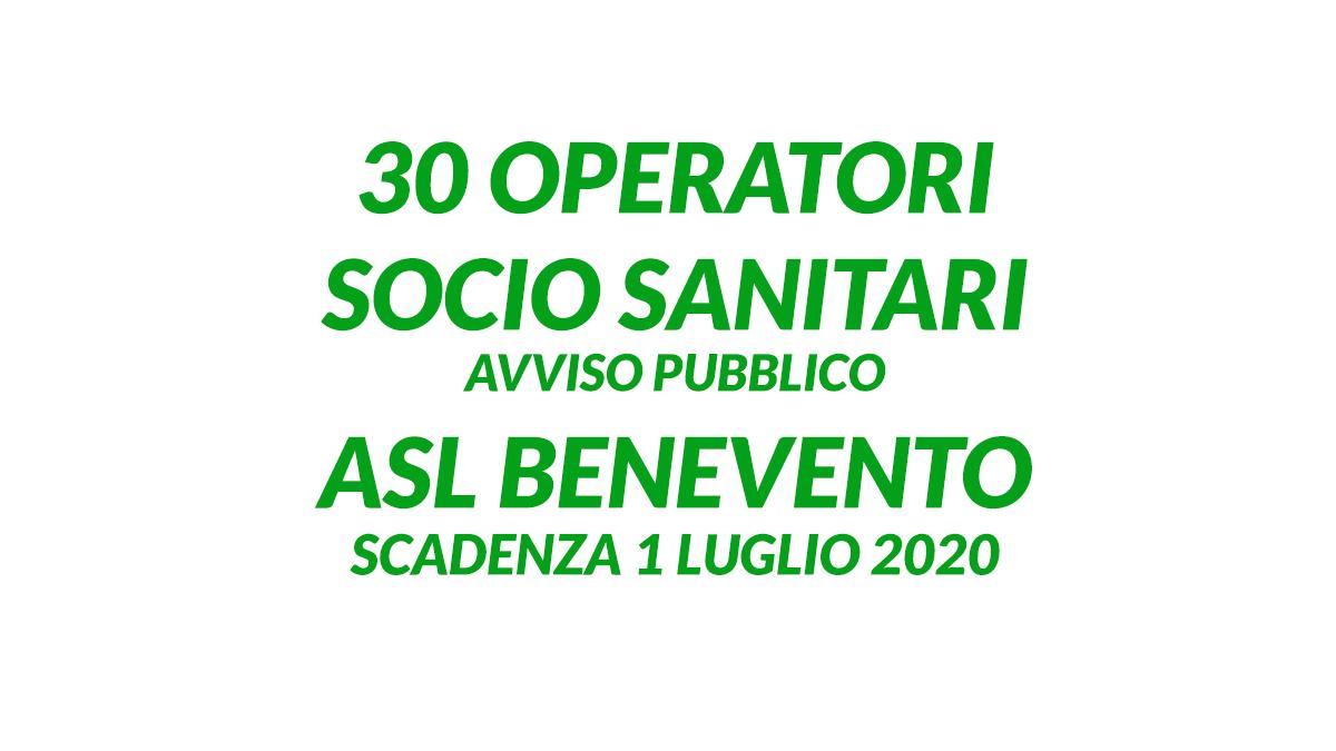 30 OSS ASL BENEVENTO luglio 2020