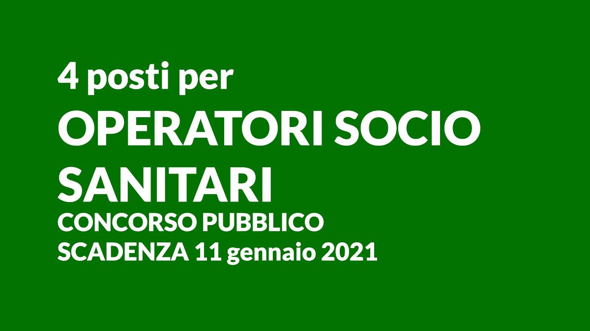 4 OSS concorso 2021 Vicenza