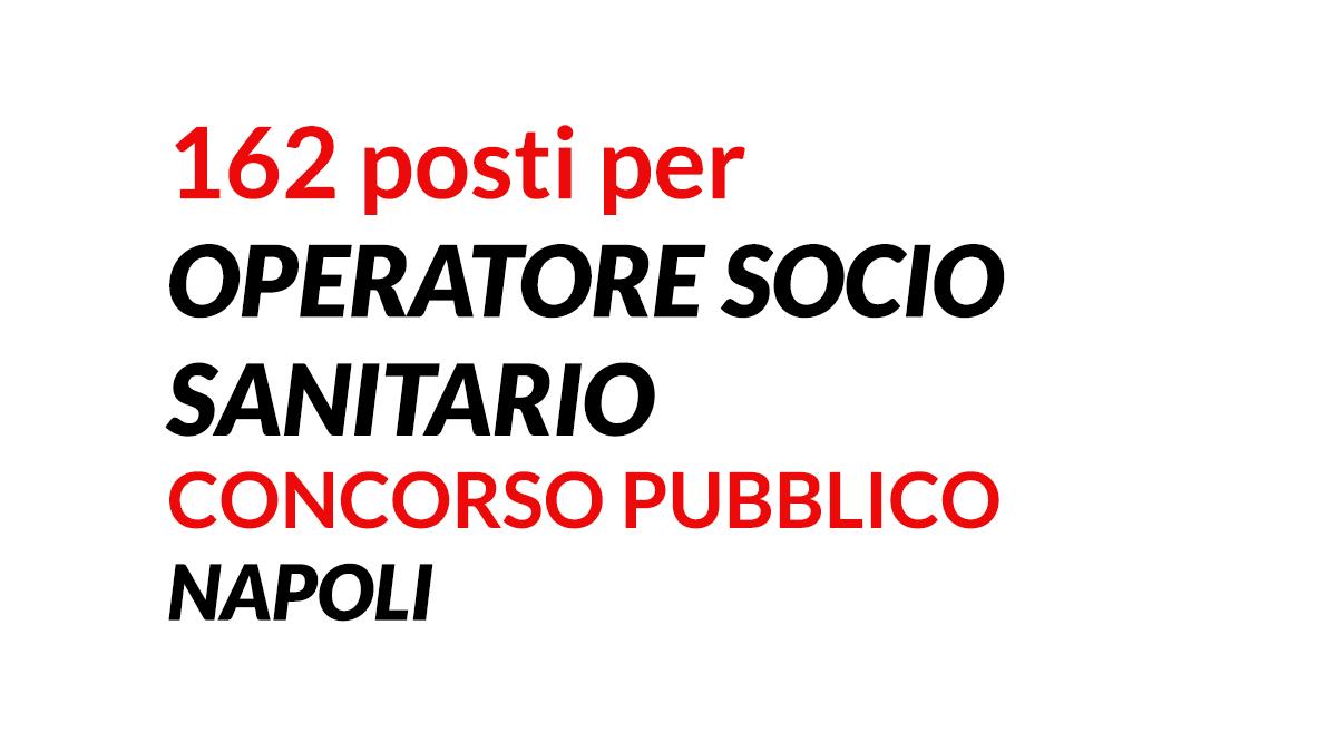 162 OSS concorso NAPOLI 2021