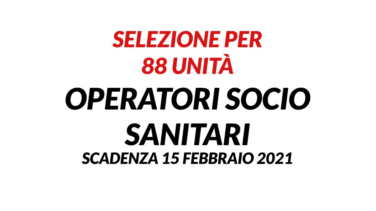 88 OSS selezione UMBRIA 2021