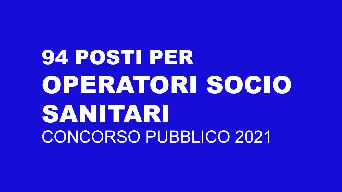94 OSS concorso 2021 UMBRIA