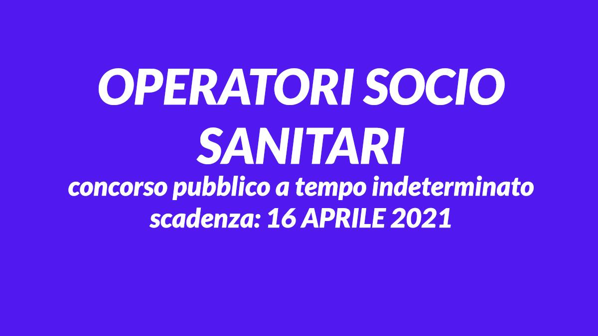 OSS concorso pubblico Aprile 2021