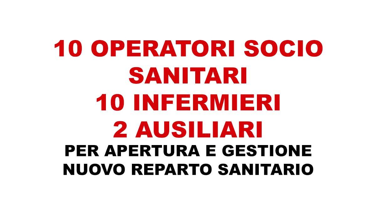 10 OSS lavoro reparto sanitario