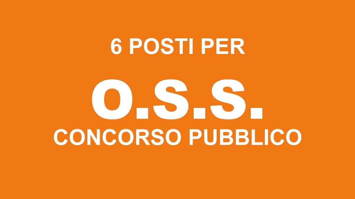 6 posti per OSS