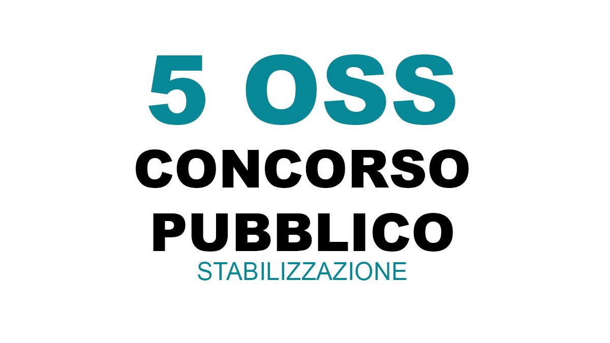 5 OSS concorso 2021 AZIENDA ULSS N. 3 SERENISSIMA
