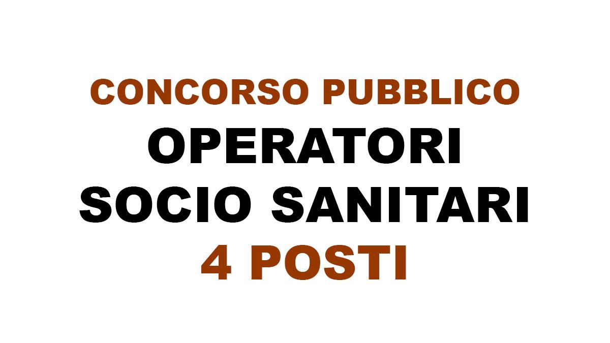 4 OSS nuovo concorso pubblico